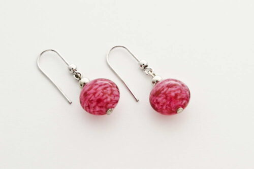 Murano aventurine earrings