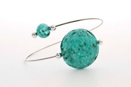 Aventurine bracelet, sea green